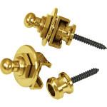 Ukulele Strap Lock - Gold