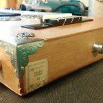 The Skullduggery Uke - Electric Cigarbox Ukulele